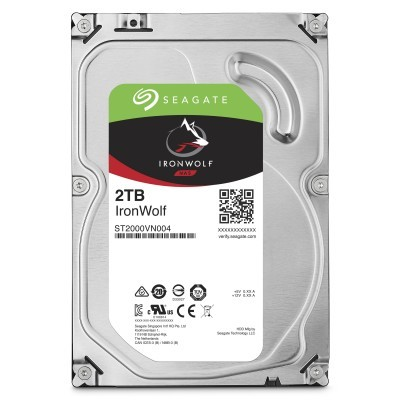 Disco 3.5 2TB SEAGATE IronWolf 64Mb SATA 6Gb/s 59rp-NAS