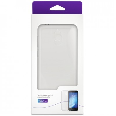 TP-Link Neffos Y5L/Y50 protective case. Colour:Transparency Material:TPU