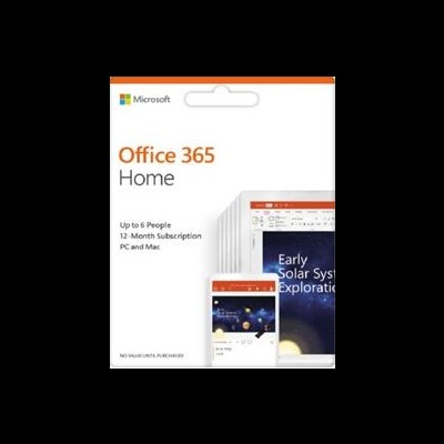Office 365 Home Portuguese EuroZone Subscr 1YR Medialess P4
