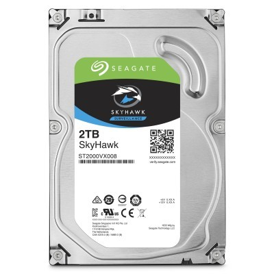 Disco 3.5 2TB SEAGATE SkyHawk 64Mb SATA 6Gb/s 59rp-Video Vigilancia