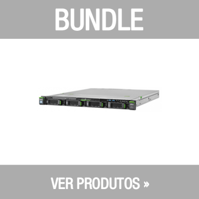Bundle FSC - RX1330 M4 E-2124 3,30GHz 16GB 2x1TB R0/1/10,1Yr+ Garantia 3Anos+ Server Essentials 2019