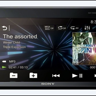 "Auto Rádio SONY Display 6,2"" MP3/Bluetooth/AUX/USB MEGABASS 4x55W - """