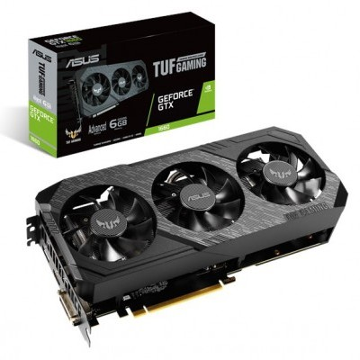 VGA ASUS GTX1660 TUF3 Gaming 6GB A6G DDR5, DVI/HDMI/DP