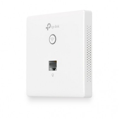 Access Point Enterprise TP-LINK 300Mbps Wireless N Wall-Plate 300Mbps 2 antenas - EAP115