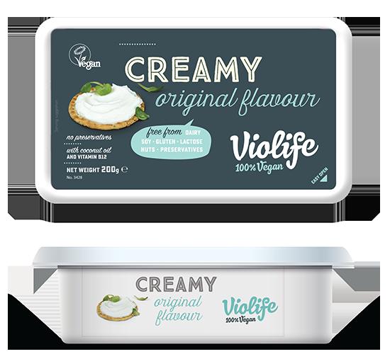 Queijo Creamy Original | Violife
