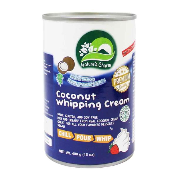 Creme de leite de coco para bater