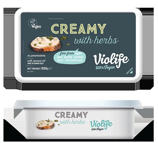 Queijo Creamy Ervas | Violife