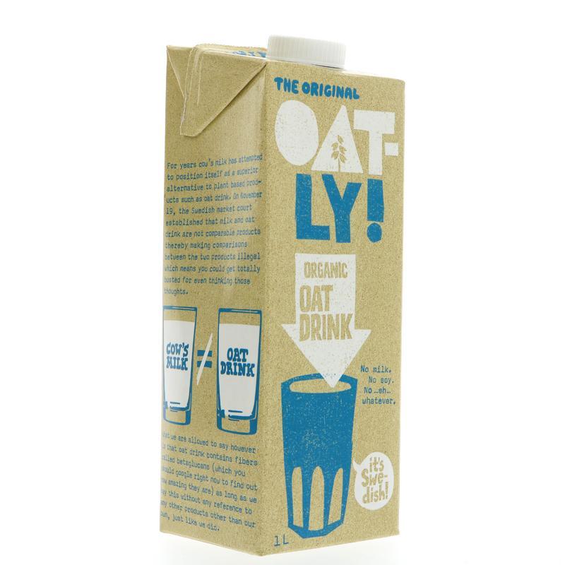 Bebida de Aveia Orgânica | Oatly