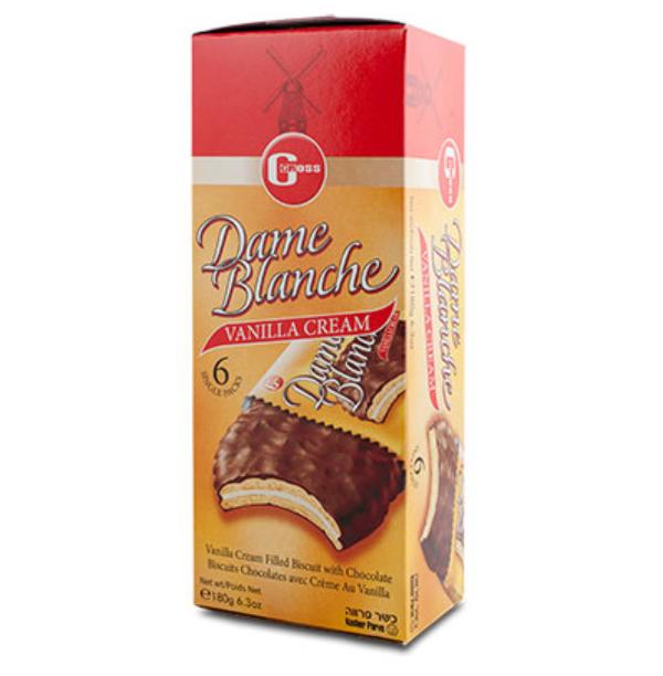 Bolachas de chocolate recheadas c/ creme de baunilha
