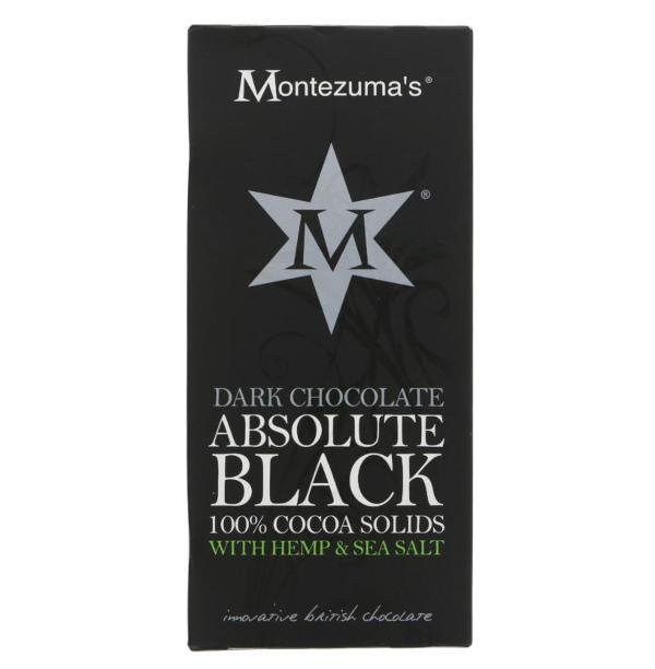 Chocolate preto c/ cânhamo e sal