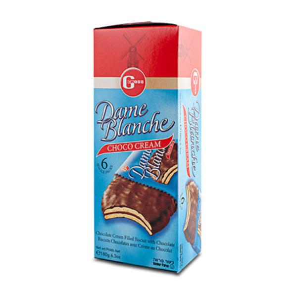 Bolachas recheadas c/ creme de chocolate