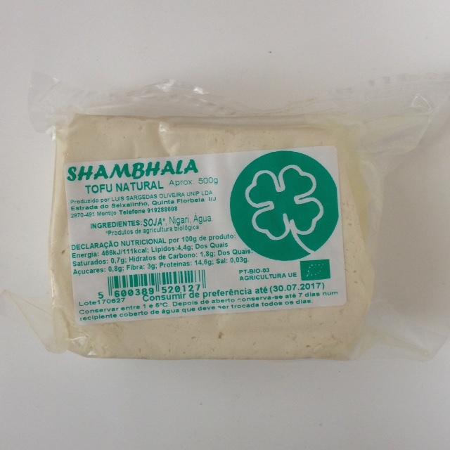 Tofu Bio 500gr   Shambhala