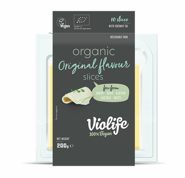 Queijo Fatiado Original Orgânico   Violife