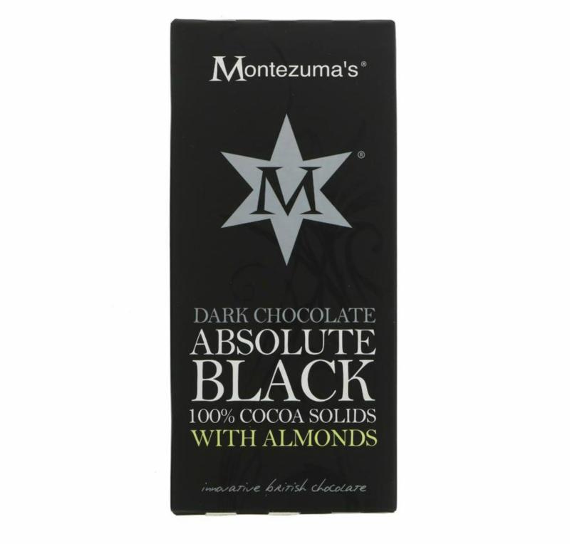 Chocolate Preto com amêndoas / Montezumas