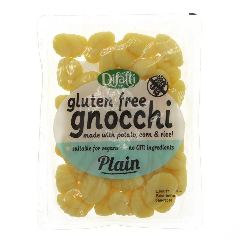 Gnocchi simples s/gluten