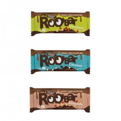 Barra Roo'Bar Coberta com Chocolate 30g