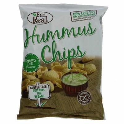 Hummus Chips com Ervas | Eat Real 135 grs