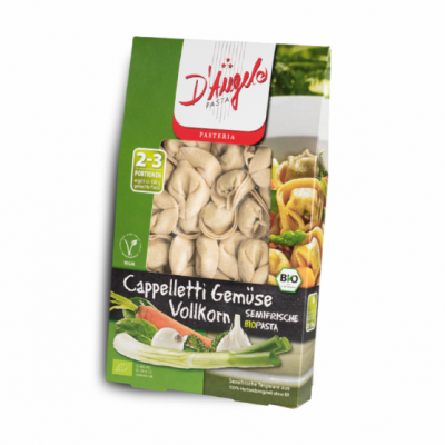 Cappelletti Integral com Vegetais