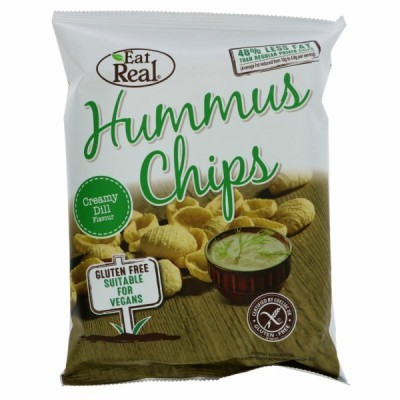 Hummus Chips com Ervas  | Eat Real 45 grs