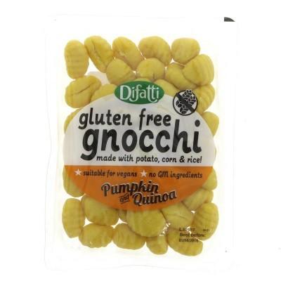 Gnocchi de Abóbora e Quinoa s/Gluten