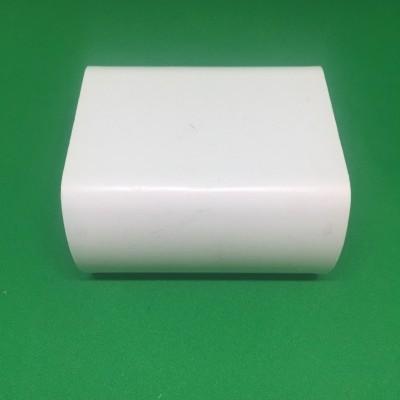 Unión PVC blanca para tubería perforado de 49 mm