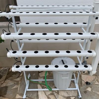 Hydro 70 Vertical Móvil + Curso + Medidor pH / EC + Espuma Fenólica
