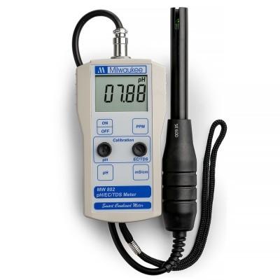 Medidor Combo pH y EC MW802