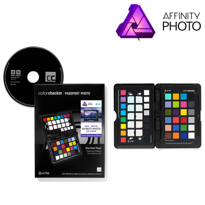 X-Rite ColorChecker Passport com oferta Affinity Photo