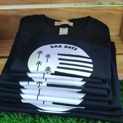 T´shirt Black Bad Boys