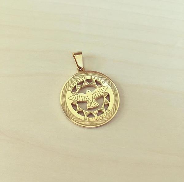 Medalha Espírito Santo Me Ilumine