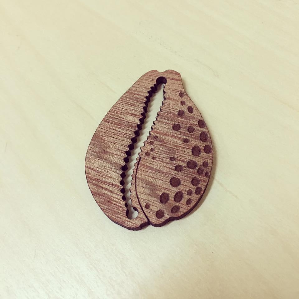 Búzio / Beijinho do Mar em madeira