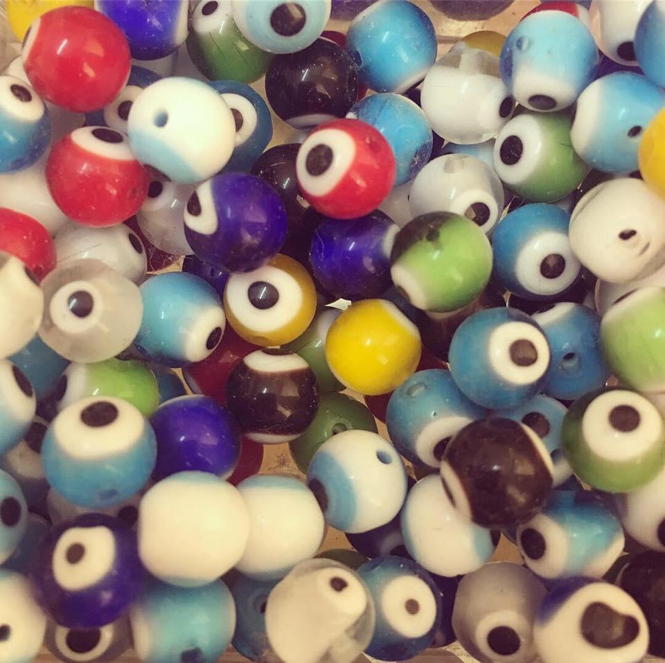 Olho Sorte Redondo 8mm
