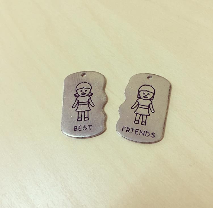 Pack Pendentes Best Friends