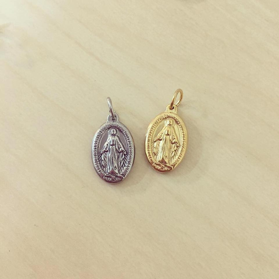 Medalha Milagrosa N. Senhora em Relevo