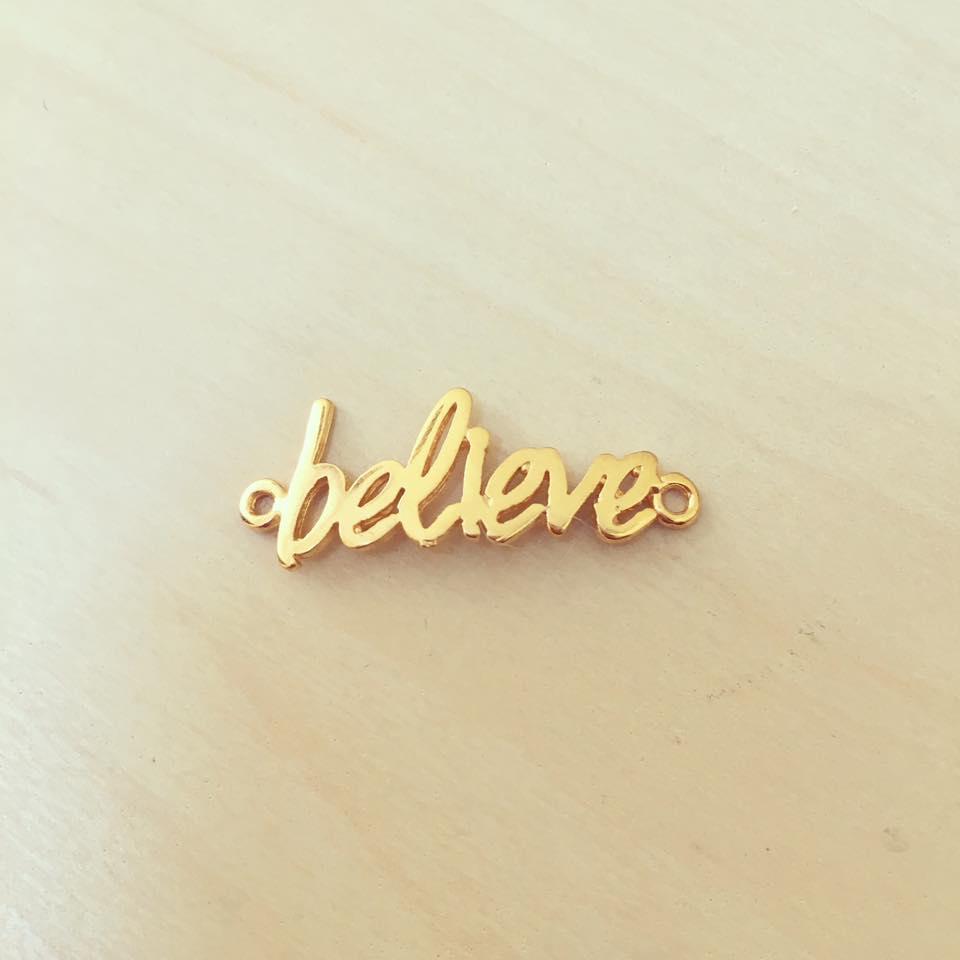 Entremeio Palavra Believe