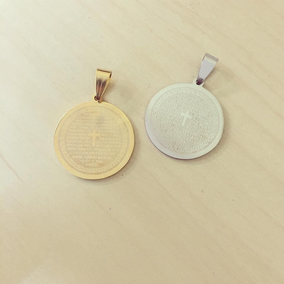Medalha Oração Pai Nosso