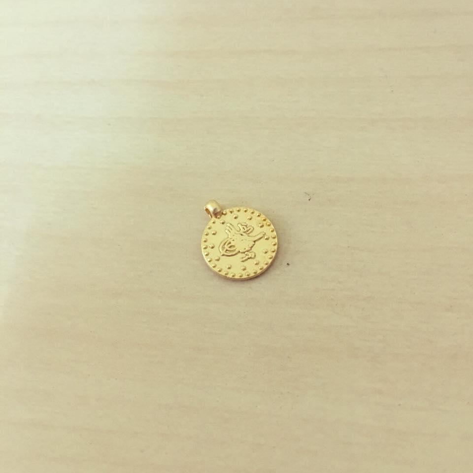 Medalhinha Dourada Mate Turca