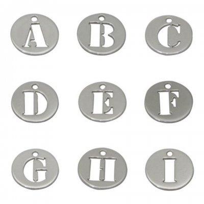 Letras Iniciais 8mm