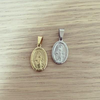Medalha Média Relevo Nossa Senhora