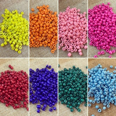 Missangas Coloridas 4mm