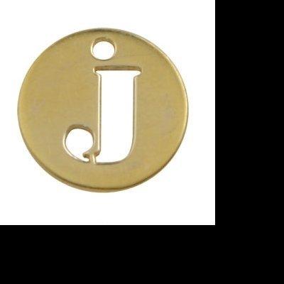 Letras Iniciais 8mm com Banho de Ouro