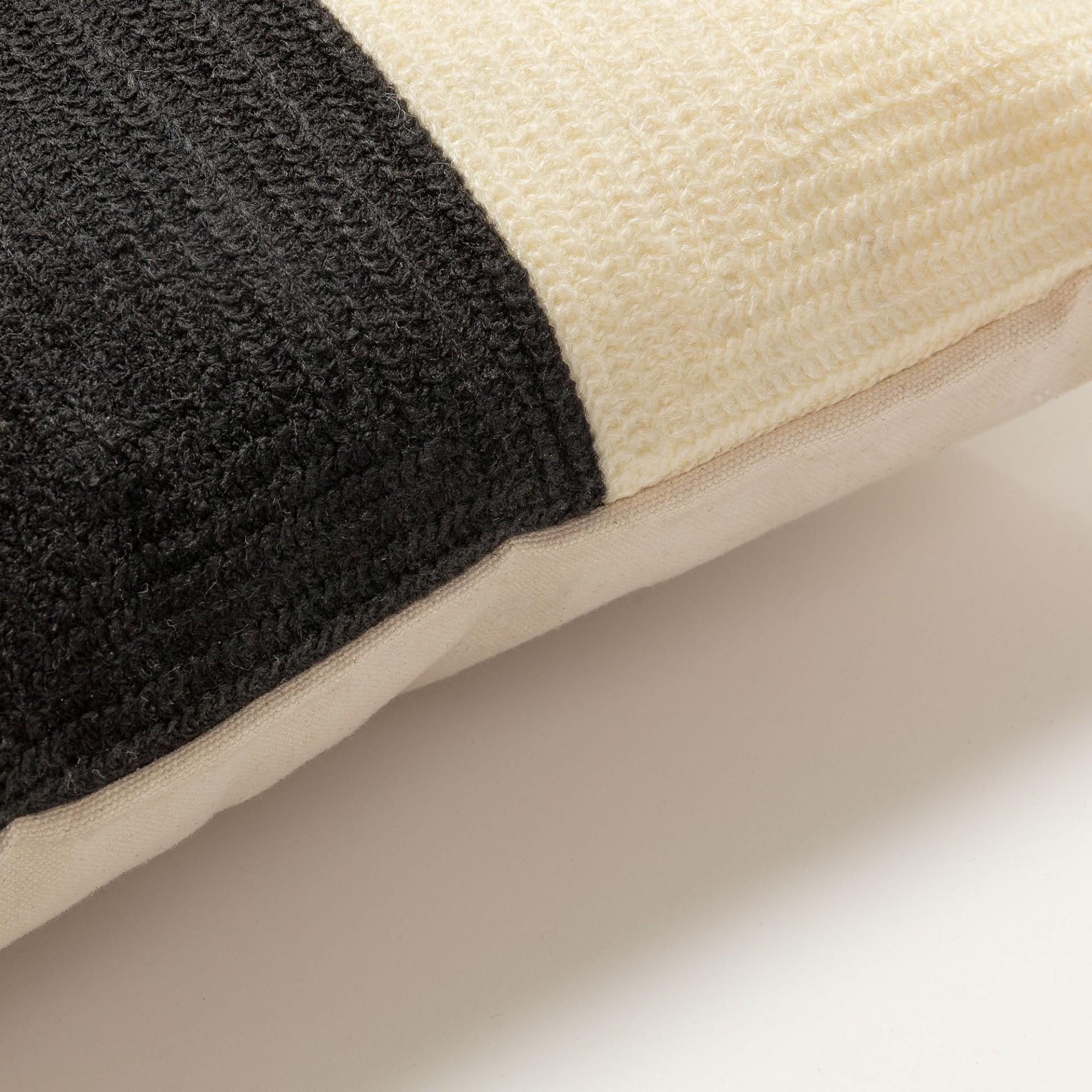 Capa de almofada Sinner, bordada, multicolor, 30x50 cm
