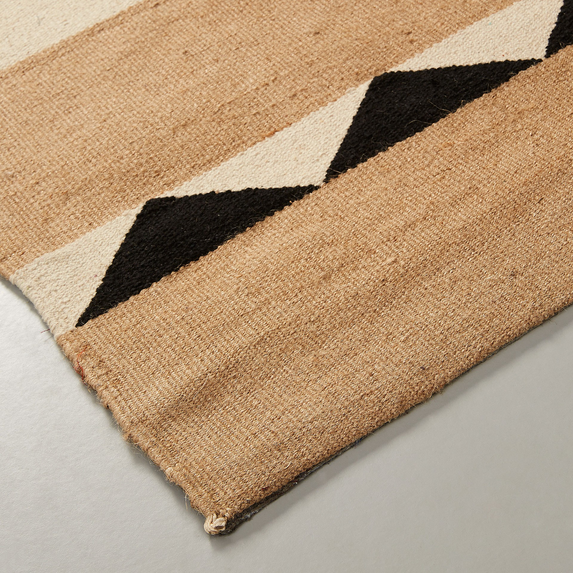 Tapete Galy, juta natural/algodão, 160x230 cm