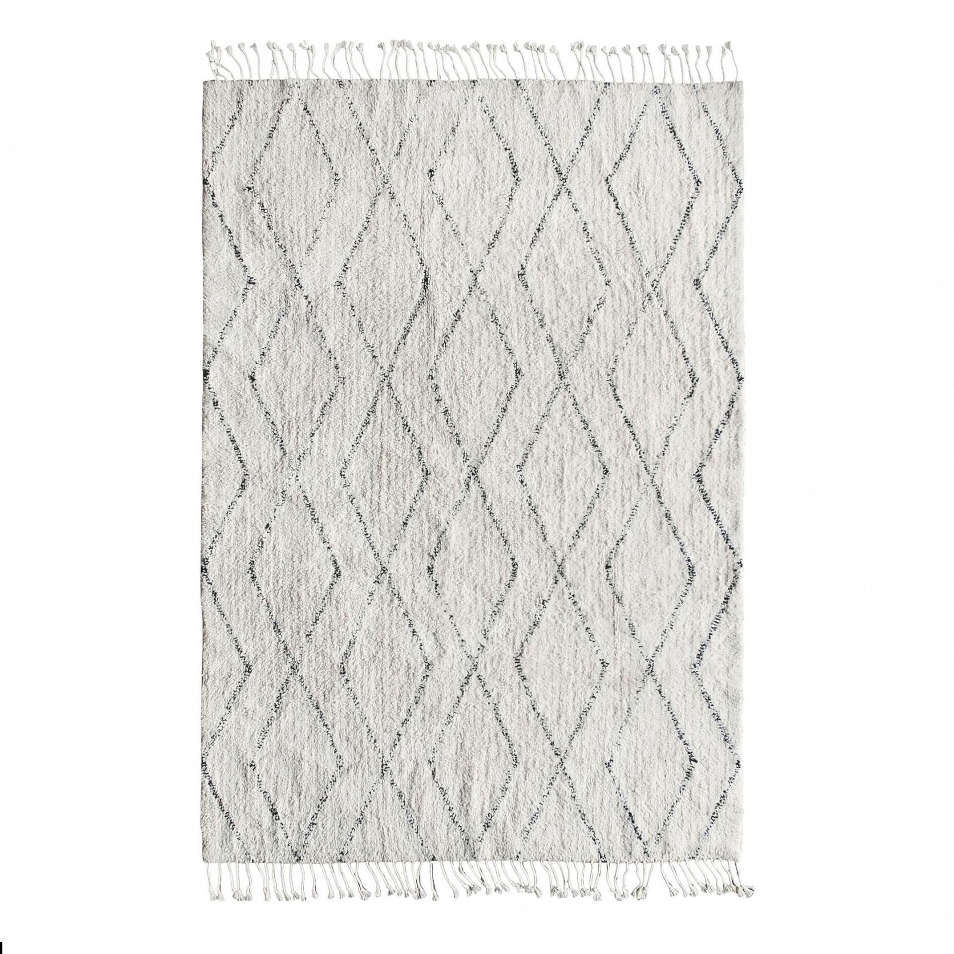 Tapete Berbere em algodão, 200x140 cm