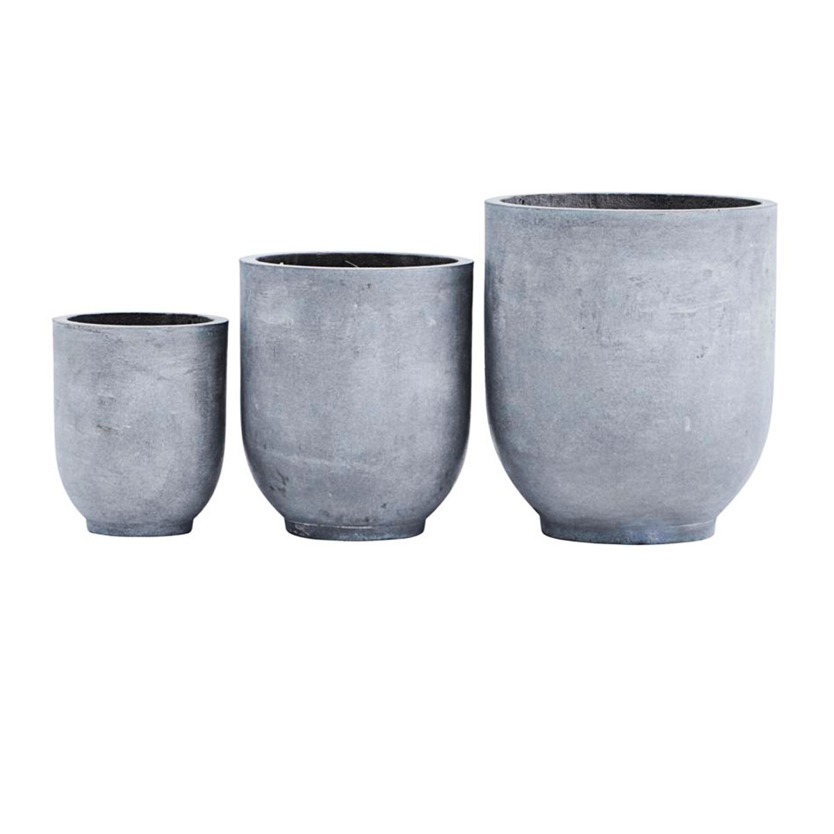 Vasos Gard, fibra de argila, (Conj.3)