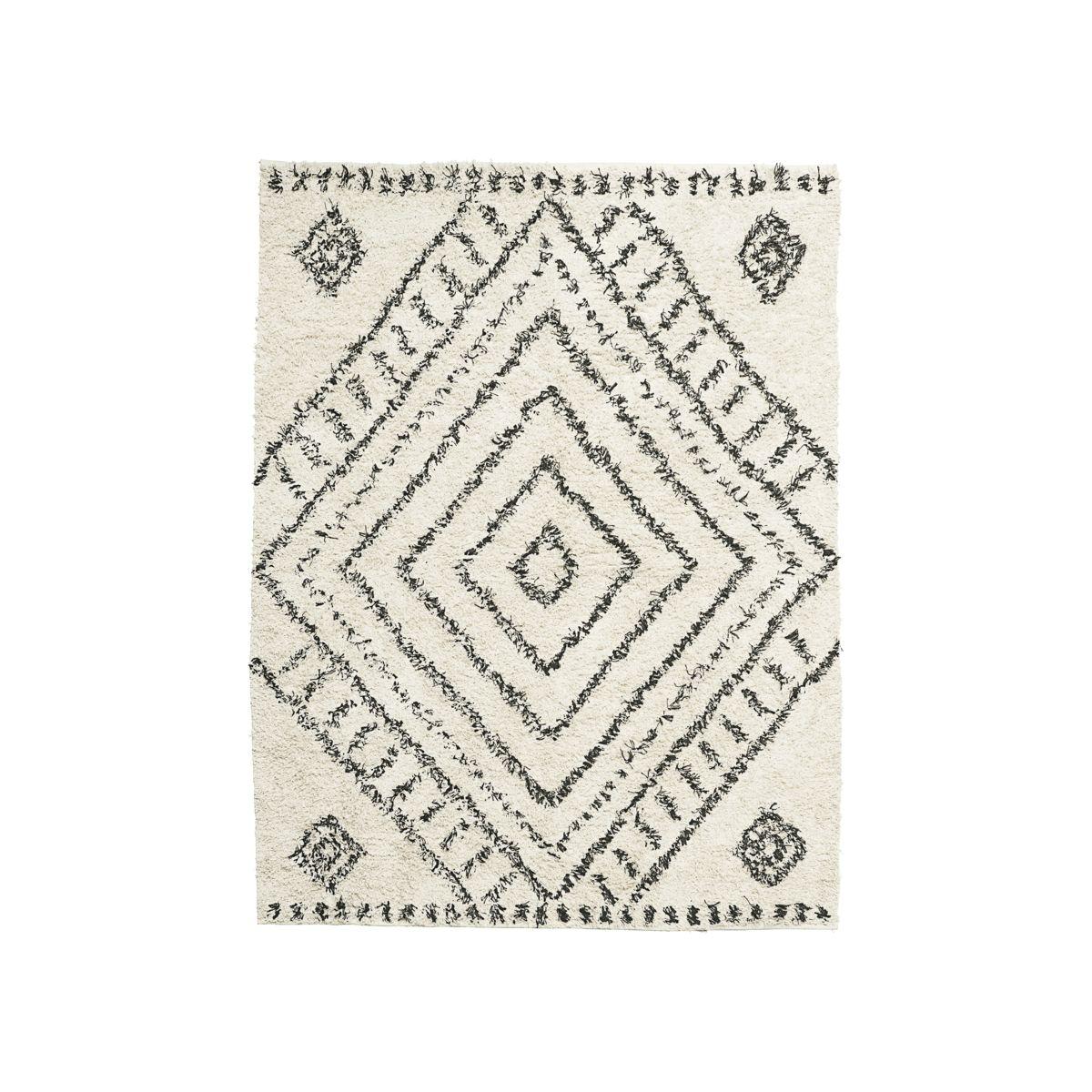 Tapete Nubia, algodão, 160x210 cm