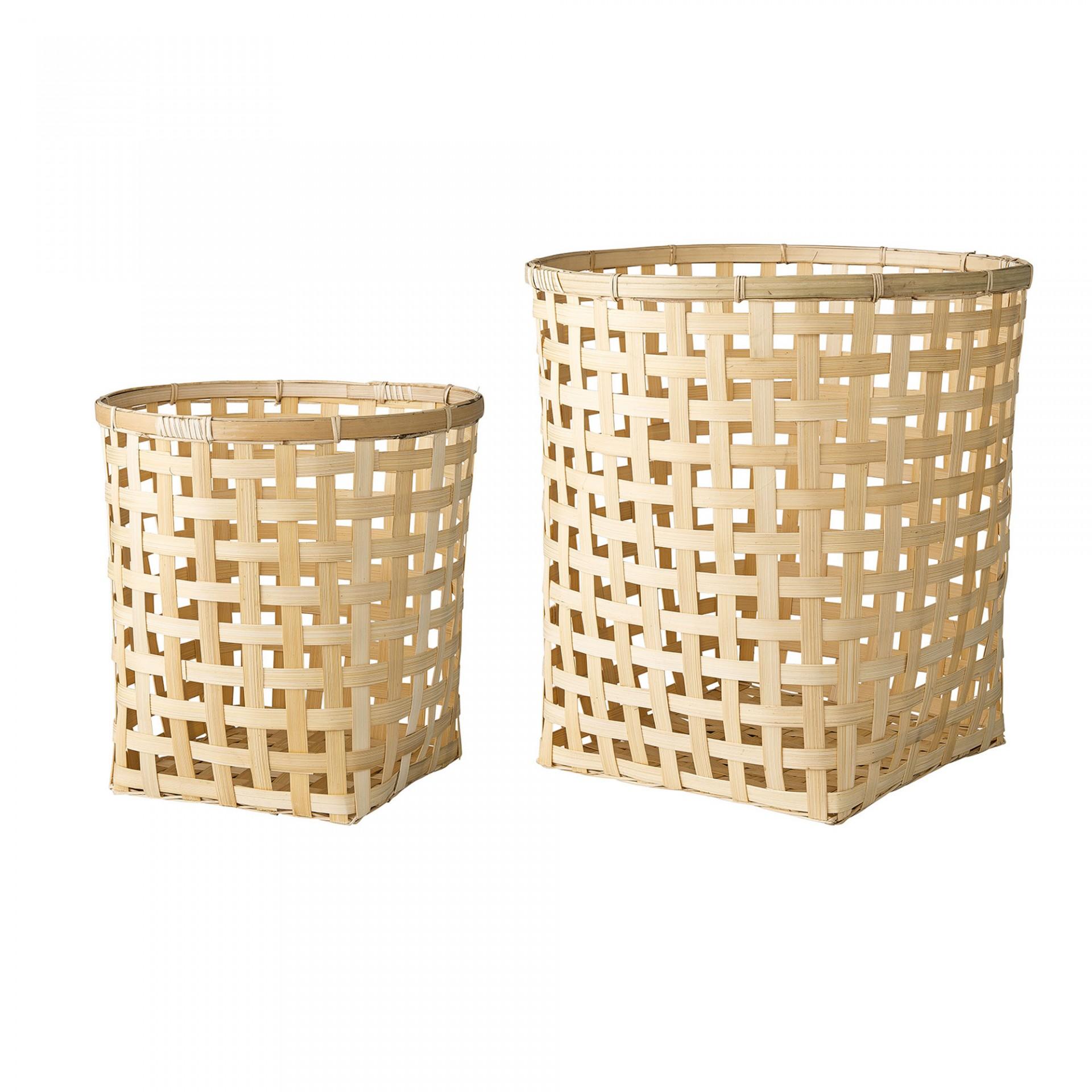 Cestas em bambú, (Conj.2)