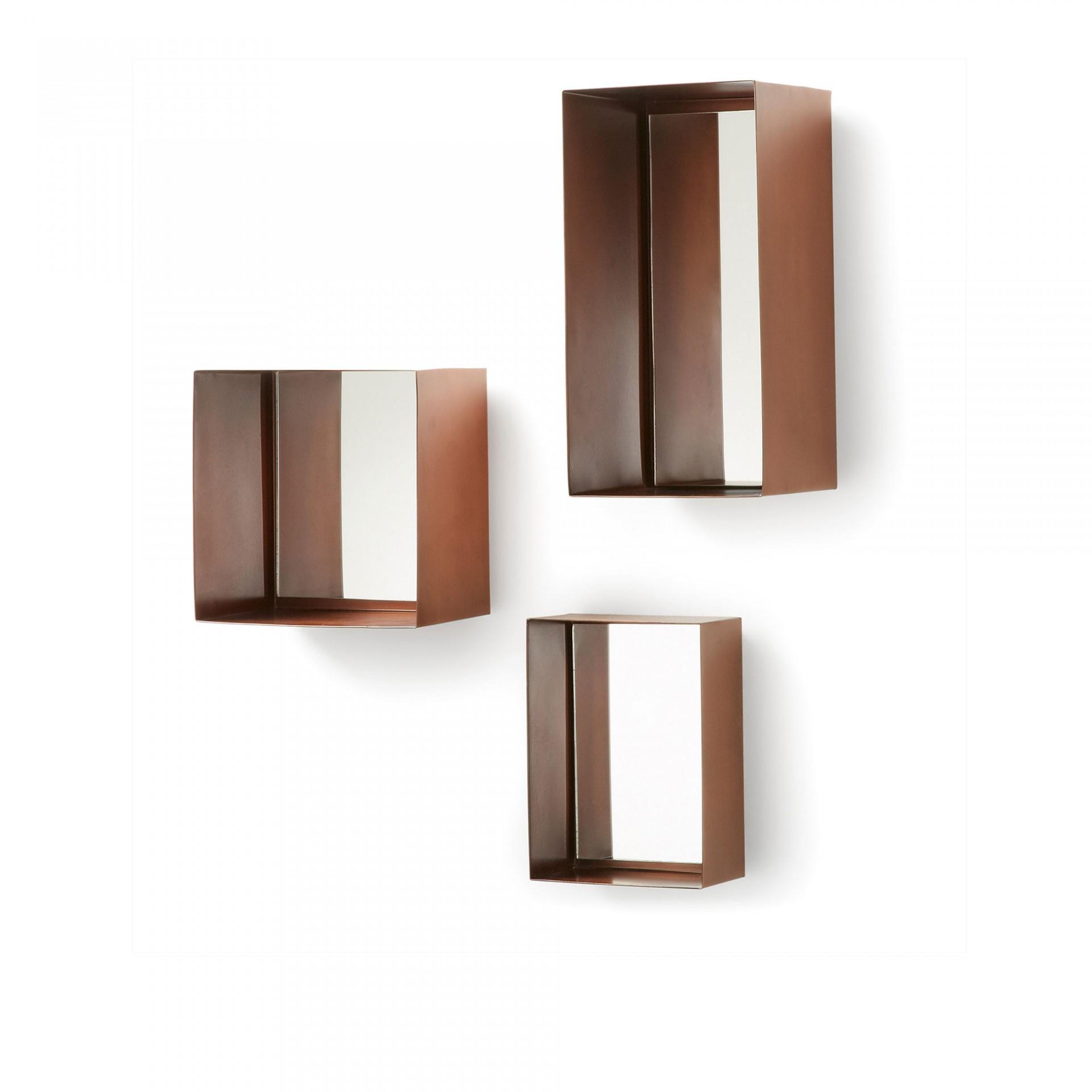 Espelhos Cliften, metal, (Conj.3)