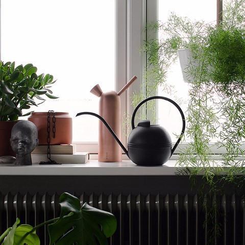 Regador Plant, preto, 37x22 cm