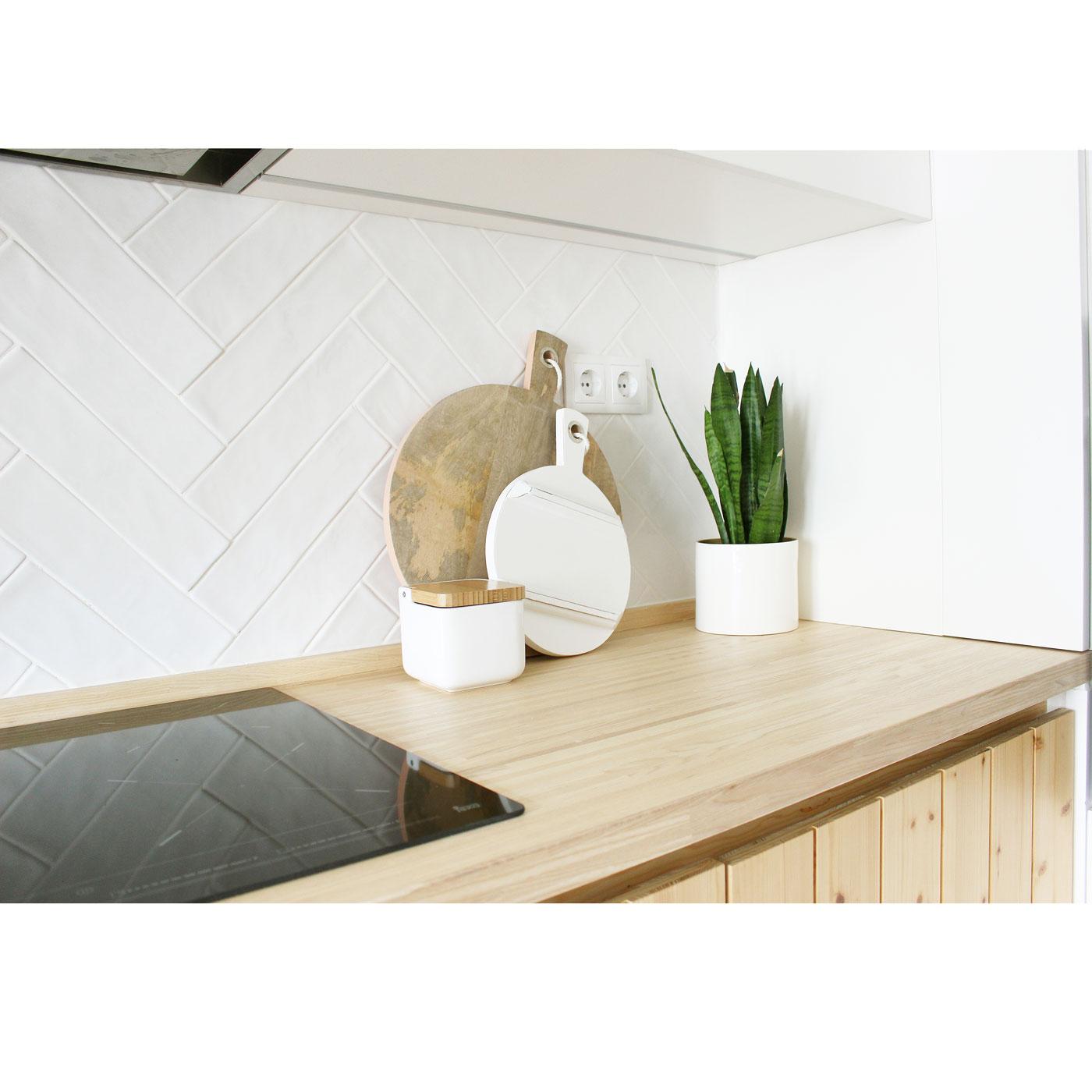 Tábua de cozinha em madeira manga, Ø25 cm